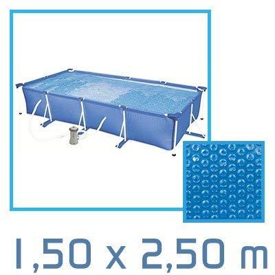 // 26 tailles disponibles//Norme CE Linxor France /® B/âche /à bulles ronde carr/ée ou rectangle 180 microns pour piscine intex ou autre ovale