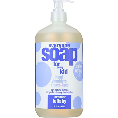 EO Products Soap - Everyone for Kids - 3-in-1 - Lavender Lullaby Botanical - 32 fl oz - 1 (Kids Lavender Shampoo)