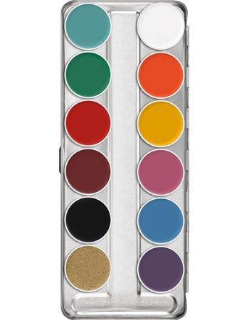 (Kryolan 1004 Supracolor Palette 12 Colors (FP) )