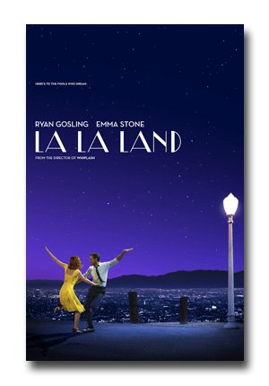 La La Land Poster - Movie Promo Flyer 11 x 17 LaLa Musical Sky