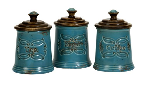 IMAX 5506 3 Provincial Canisters Set
