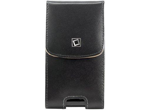 Cellet Vertical Noble Case for HTC EVO 4G - Black