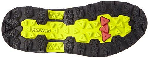 sintético Gaupe Viking Zapatillas Gelb GTX Material Textile Adulto Black 8802 Senderismo Trekking Lime Unisex de de y Amarillo vrwwd
