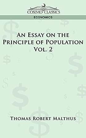Thomas malthus an essay on the principle of population