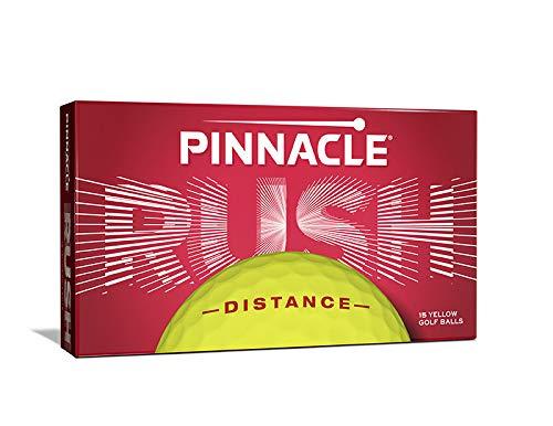 Pinnacle Rush Golf Balls, Yellow (Pack of 15)