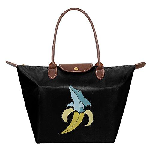 OUDE Banana Dolphin Fashion Ladies Folding Dumpling Bags