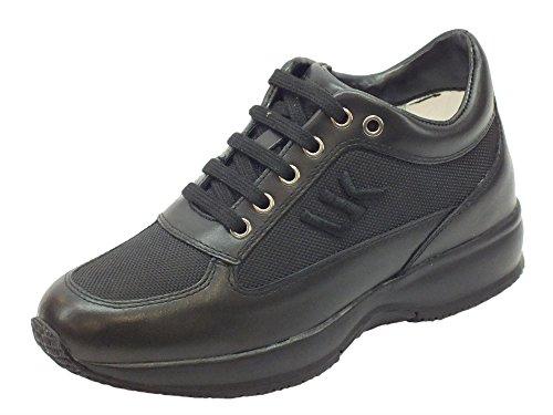 Lumberjack Damen Sneaker Schwarz