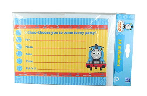 Thomas & Friends Thomas The Tank Engine Pack of 20 Invitations]()