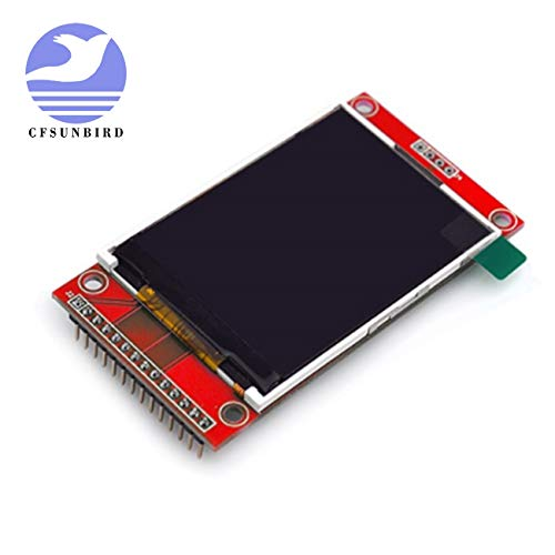 CFsunbird NoEnName_Null 2.4 inch SPI TFT Screen Module Without Touch Panel Least Need 4IO ILI9341 LCD Display