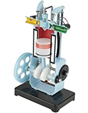 Physics Mechanics Experiment Teaching Instrument Diesel 4-Stroke Internal Combustion Engine Model Demonstrate Working Principle