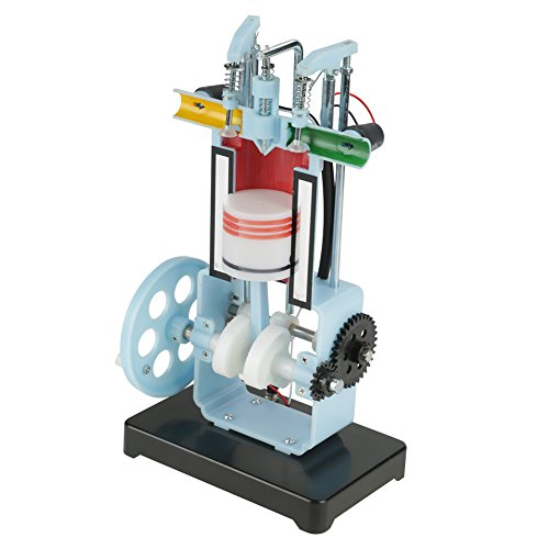 Physics Mechanics Experiment Teaching Instrument Diesel 4-Stroke Internal Combustion Engine Model Demonstrate Working Principle