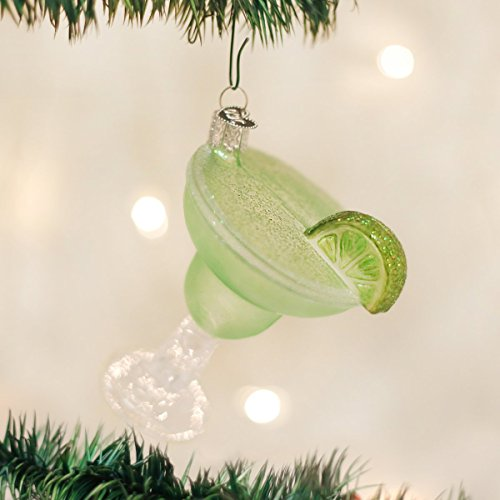 Old World Christmas Adult Beverages Glass Blown Ornaments for Christmas Tree, Margarita