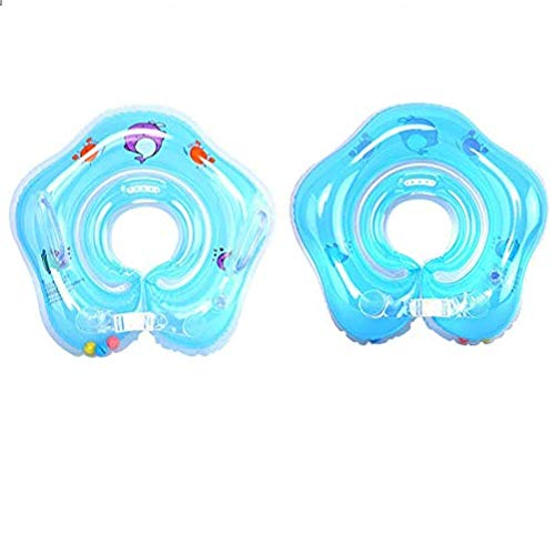 - Bath Pillows - 1pc Baby Float Ring Inflatable Born Infant Neck Swimming Circle - Center Pool Play Holder Float Inflatable Ring Drink Bath Pillows Inflatable Infant Neck Float Swim Ring Baby F