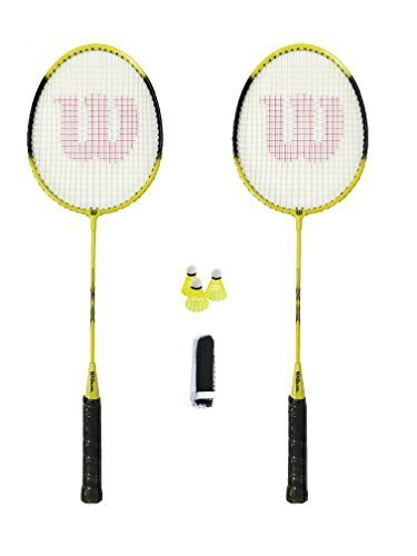 Wilson Fluo Badminton Set, including Net, Posts and Shuttles M D TRADING UK LTD