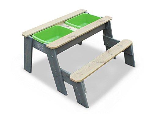 Exit Sand- Wasser und Picknicktisch m. 1 Sitzbank