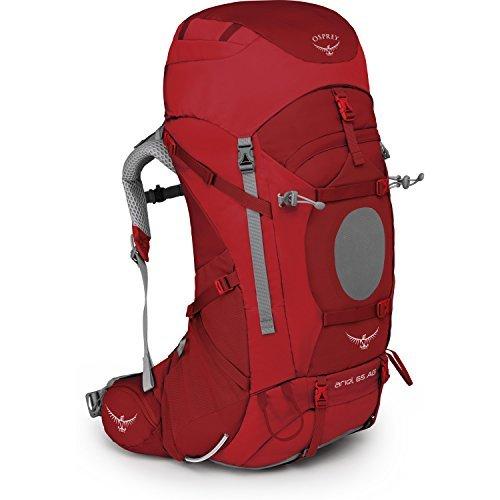 Osprey Ariel 65 Womens Hiking Backpack Medium Picante Red [並行輸入品] B07DVMYMQF