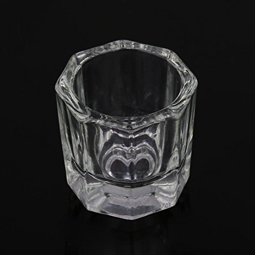 Buildent(TM) Nail Art Acrylic Liquid Powder Dappen Dish Glass Crystal Cup Glassware Tool Nail tools Acrylic Liquid Powder Kits