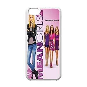 FOR Iphone 5c -(DXJ PHONE CASE)-Burn Book - Mean Girls-PATTERN 2