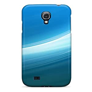 First-class Case Cover For Galaxy S4 Dual Protection Cover Blue Light