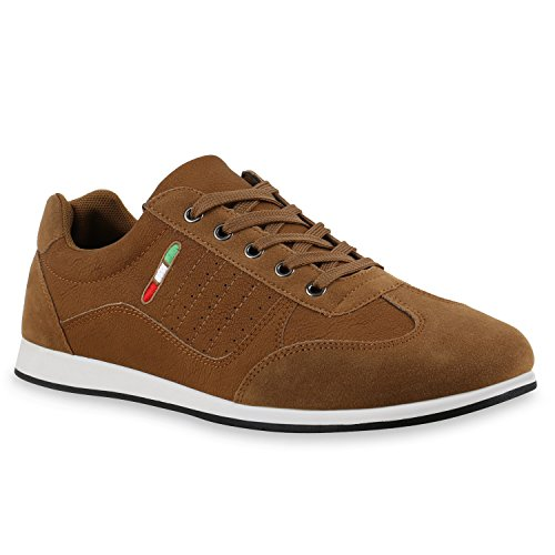 Herren Sneaker Low Denim Turnschuhe Schn rer Freizeit Schuhe 822710 Mens Special