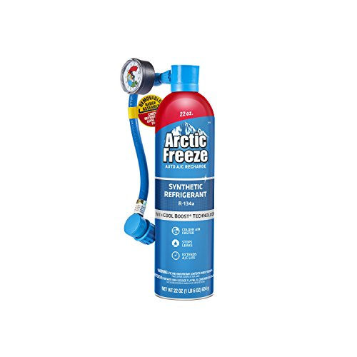 - Arctic Freeze Ultra Synthetic Automotive Refrigerant 134A (22 oz.)
