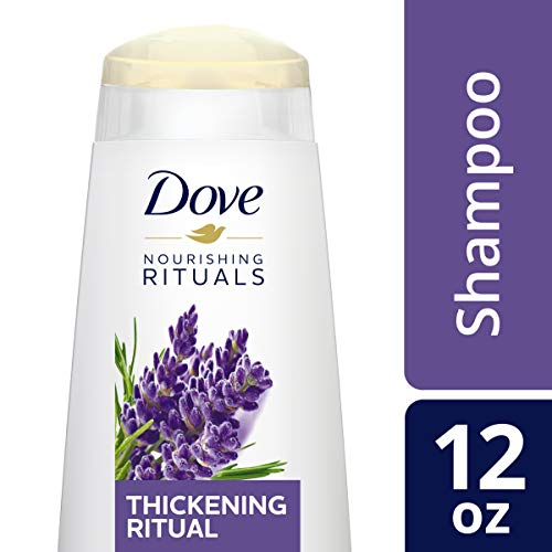 (DOVE HAIR Nourishing Rituals Thickening Ritual Shampoo, 12 Ounce)