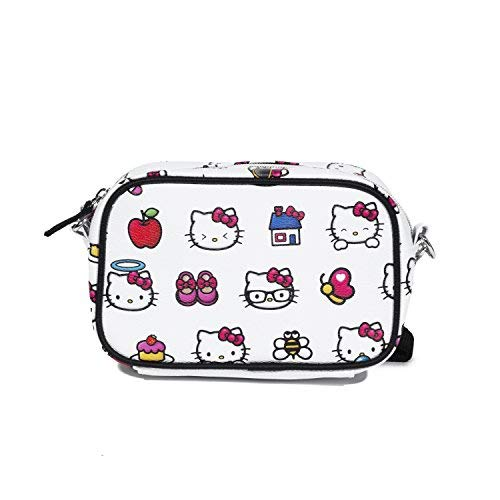 Hello Kitty Emoji Pebble Cross -