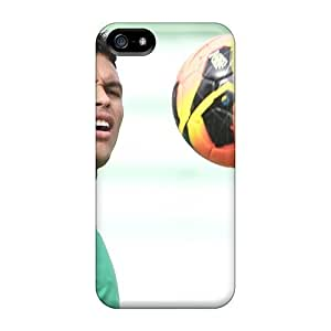 Cute Tpu LastMemory Psg Thiago Silva Looking At The Ball Case Cover For Iphone 5/5s