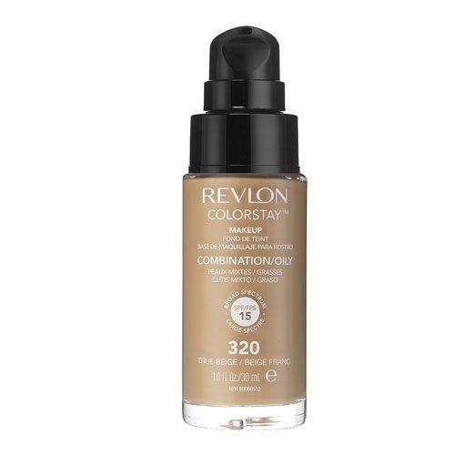 128 opinioni per Revlon Fondotinta Colorstay per Pelli Miste/Grasse, 320- 113 ml