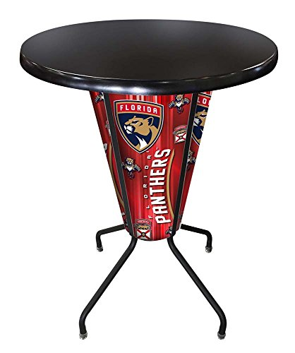Lighted Florida Panthers Pub Table - Florida Panthers Pub Table