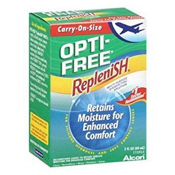 Opti-Free RepleniSH Multi-Purpose Disinfecting Solution, Carry-On Size, 2 fl oz