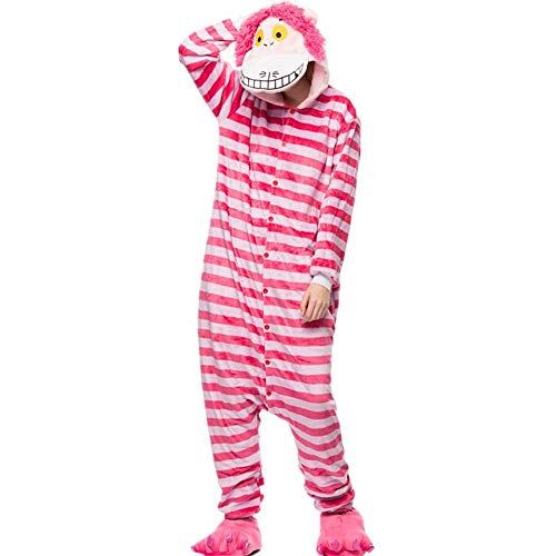 Unisex Animal Cosplay Onesie Adult Pajamas Anime Cartoon Sleepwear