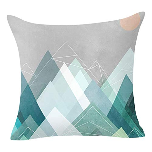 GOVOW Sofa Decorations Blanket Geometric Pillow Case Waist Cushion Cover Home Decor on Clearance