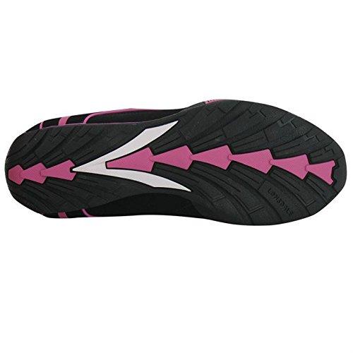Lonsdale - Zapatillas para niño - negro/rosa