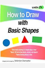 How to Draw with Basic Shapes: 12 Books in 1! Paperback