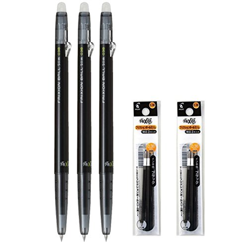 Pilot FriXion Retractable Erasable Refills