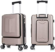 Generies New Creative Rolling Luggage Suitcase, Trolley Case, Women's Fashion Case, Men's Suitcase, La