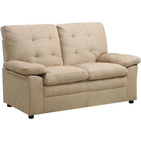 Buchannan Microfiber Loveseat, Multiple Colors Features