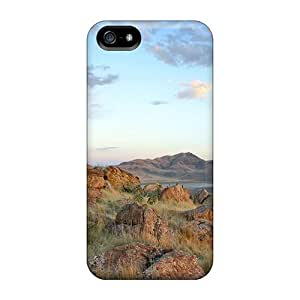 High Quality Cynthaskey Mountains Rocks Skin Case Cover Specially Designed For Iphone - 5/5s by icecream design