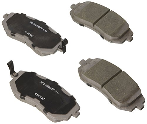 ACDelco 14D929CH Advantage Ceramic Front Disc Brake Pad Set