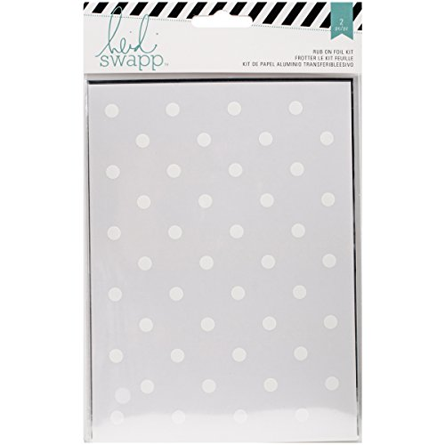 - Heidi Swapp Dots Rub Ons & Foil Kit for Craftwork