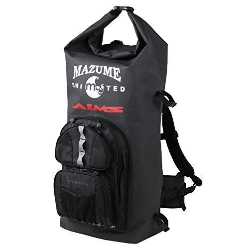 MAZUME(マズメ) 磯バッグ mazume×AIMS ウォータープルーフバックパック II MZBK-319-01 ブラック 70Lの商品画像