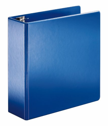 Cardinal 11842 SuperStrength Locking Slant-D Ring Binder, 4