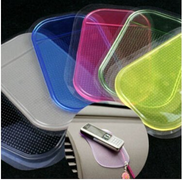 2014 HOT Sale Powerful Silica Gel Magic Sticky Pad Anti Slip Non Slip Mat for Phone PDA Mp3 Mp4 Car Accessories Multicolor - Sunglasses 2014 Hot