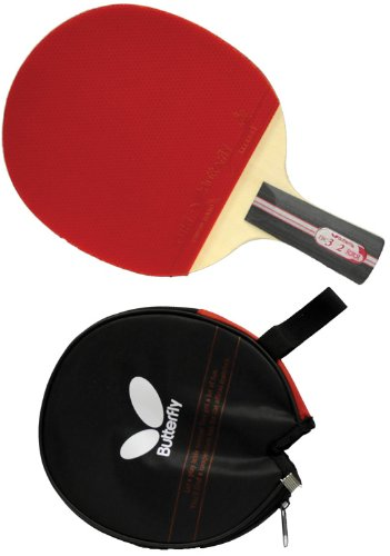 Butterfly 302 Cs Penhold Table Tennis Racket