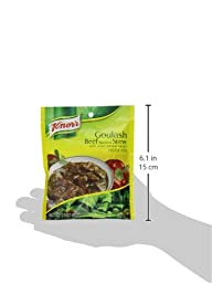 Knorr Entree Mixes-Beef Stew (Goulash) Recipe Mix, 2.4-Ounce Pouches (Pack of 12)