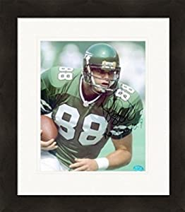 Autograph Warehouse 269795 Kyle Brady Autographed 8 x 10 in. Photo - New York Jets Matted & Framed
