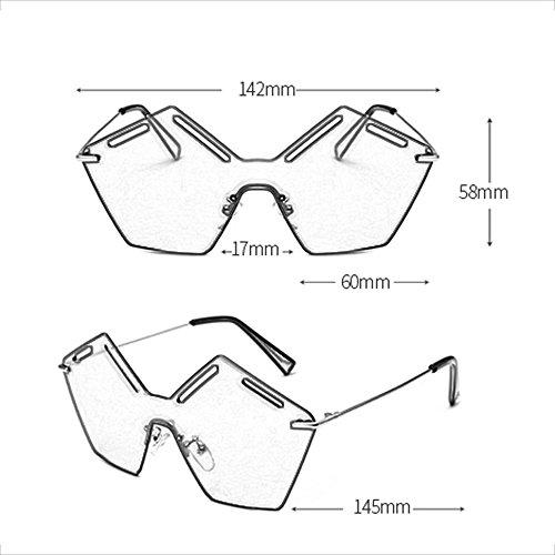 de Personalidad Redondo Gafas C Sol de Sol de Bisagra Elegantes F Ligero Color Gafas Firme Sol Gafas dTYqfXwd