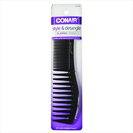 Conair Styling Essentials Wide-Tooth Lift Comb 1 ea (Pack of 2) CONAIR CORP
