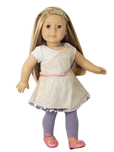 American Girl Isabelle - Isabelle's Metallic Dress - American Girl of